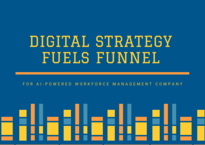 Digital Strategy Fuels Funnel for AI-powered Workforce Management Company