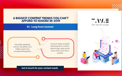 6 Biggest Content Trends You Can't Afford To Ignore In 2019