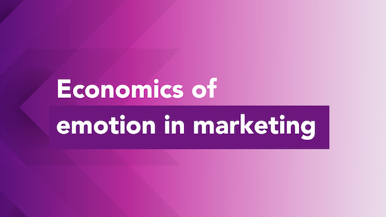 Economics of emotion in marketing