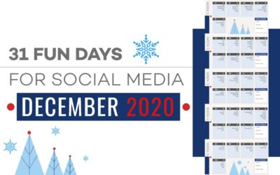 31 Fun Days For Social Media December 2020